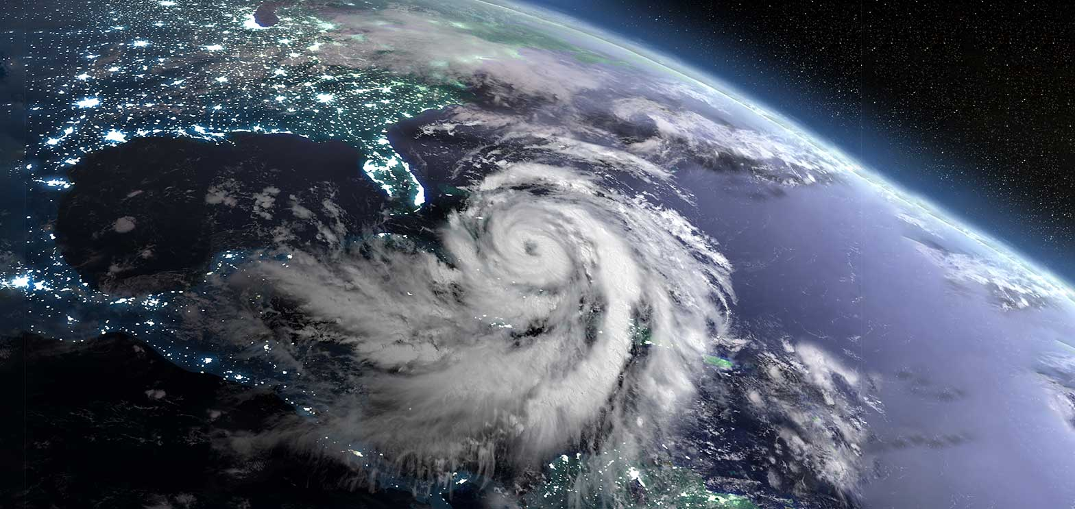 a hurricane about the hit the south of the united states disaster recovery contact center plan