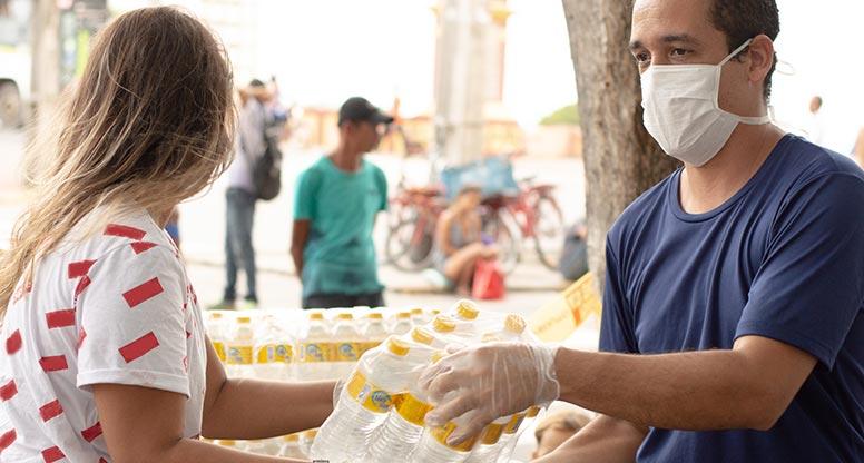 Community service during COVID 19 pandemic contact center services customer service